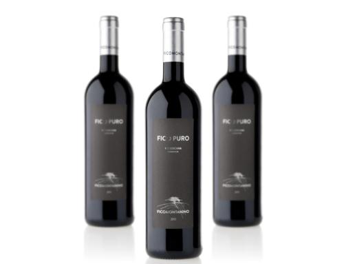 Ficomontanino Fico Puro – etichetta vino